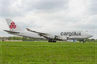 LX-OCV @ ELLX - Boeing 747-4R7F - by Jerzy Maciaszek