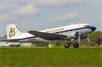 HB-IRJ @ ELLX - Douglas DC3A-S4C4G - by Jerzy Maciaszek