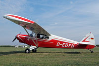 D-EDYH @ EDMT - Piper PA-12 Super Cruiser [12-3480] Tannheim~D 24/08/2013 - by Ray Barber