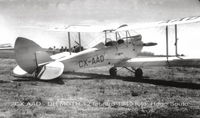 CX-AAD @ SUAA - Avión de instrucción  primaria usado por el Centro Nacional de Aviación foto año 1949. - by Hugo Souto via aeronaves CX