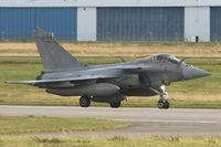 14 @ LFRJ - Dassault Rafale M, Taxiing after landing rwy 26, Landivisiau Naval Air Base (LFRJ) - by Yves-Q