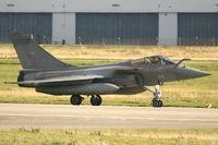 34 @ LFRJ - Dassault Rafale M, Taxiing after landing rwy 26, Landivisiau Naval Air Base (LFRJ) - by Yves-Q