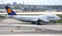 D-ABVO @ EDDF - Boeing 747-400 - by Mark Pasqualino