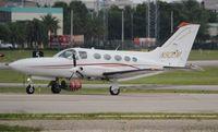 N50EM @ FXE - Cessna 414A