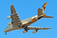 A6-APA @ EGLL - Airbus A380-861 [166] (Etihad Airways) Home~G 14/04/2015. On approach 27R. - by Ray Barber