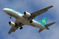 EI-EPT @ EGLL - Airbus A319-111 [3054] (Aer Lingus) Home~G 10/05/2015. On approach 27R.