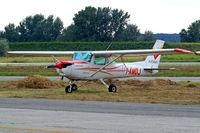 I-AMDJ @ LIRU - Cessna 152 [152-81764] (Aviomar) Rome-Urbe~I 23/08/2014 - by Ray Barber