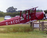 G-ACDC @ EGKH - At rest at Headcorn EGKH - by Clive Pattle