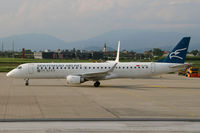 4O-AOC @ LOWG - Montenegro Airlines Embraer 195 @GRZ - by Stefan Mager