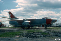 142246 @ BDL - A-3B Skywarrior. Saw service with USN VAH-13, VAH-123 and NATC Pax-River. SOC: 1976, flown to museum. - by John Hevesi