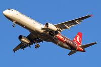 TC-JRO @ EGLL - Airbus A321-231 [4682] (THY Turkish Airlines) Home~G 17/12/2012. On approach 27R.