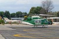 CFS21AB @ LIRU - Agusta-Bell 412 CS [25614] (Corpo Forestale dello Stato) Rome-Urbe~I 23/08/2014 - by Ray Barber
