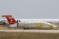 HB-LUS @ LMML - Piaggio P-180 Avanti HB-LUS Sunny Air