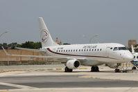 5A-PAB @ LMML - Embraer ERJ-170 5A-PAB Petro Air - by Raymond Zammit