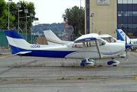 I-CCAS @ LIRU - R/Cessna FR.172J Rocket [0527] Rome-Urbe~I 23/08/2014