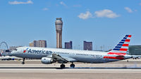 N190UW @ KLAS - N190UW American Airlines 2001 Airbus A321-211 - cn 1436 - US Airways 