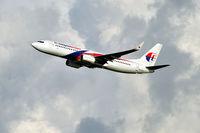 9M-MSB @ WBKK - Take off late afternoon - by JPC
