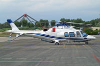 I-CLMH @ LIRU - Agusta A-109S Grand [22037] Rome-Urbe~I 23/08/2014