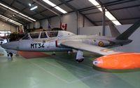 MT-34 @ EBFS - Florennes AFB .Spitfire museum. - by Robert Roggeman