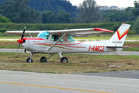 I-AMCZ @ LIRU - Cessna 152 [152-81481] (Aviomar) Rome-Urbe~I 23/08/2014 - by Ray Barber
