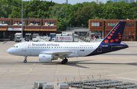 OO-SSQ @ EDDT - Airbus A319