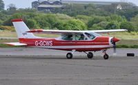 G-GCWS @ EGFH - Visiting Cessna Cardinal. Previously registered SE-CWS. - by Roger Winser