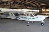 I-CALD @ LIQN - I-CALD   Tecnam P.92JS Echo [86] (Aero Club d'Italia) Rieti~I 24/08/2014