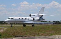 N52RF @ ORL - Falcon 50EX