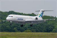D-AOLG @ EDDR - Fokker 100 - by Jerzy Maciaszek