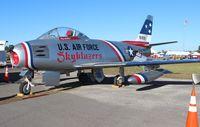 N86FR @ SUA - F-86F