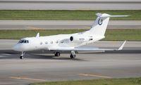 N91NA @ MIA - Indianapolis Colts Gulfstream II
