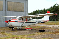 D-EBOR @ LIRZ - R/Cessna F.172G Skyhawk [0197] Perugia~I 24/08/2014. Stored. - by Ray Barber