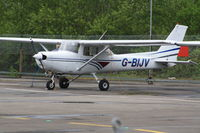 G-BIJV @ EGLK - G BIJV REIMS CESSNA F152 C/N 1813TAKEN AT EGLK - BLACKBUSHE BBS 26.04.15 - by dave226688