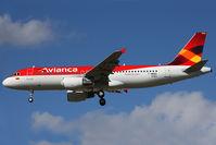 N763AV @ LFBO - Landing