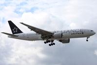 N78017 @ EGLL - Landing