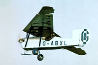 G-ABXL @ EGTH - Granger Archaeopteryx [3A] Old Warden~G 30/06/1974. From a slide.
