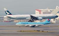 B-KQB @ VHHH - Cathay Pacific - by Wong Chi Lam