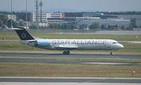 OE-LVG @ EDDF - Fokker 100