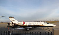 N219L @ KPRB - Estrella Aviation LLC (Phoenix, AZ) @ Paso Robles Municipal Airport, CA - by Steve Nation