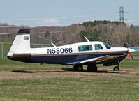 N58066 @ 12N - Spotted this very nice 1985 Mooney at Aeroflex Andover. - by Daniel L. Berek