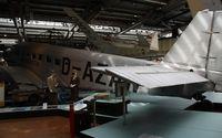 D-AZAW - Junkers Ju-52/3mte Located at Deutsches Technikmuseum Berlin - by Mark Pasqualino