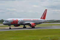 G-LSAI @ EGCC - Just landed at Manchester. - by Graham Reeve
