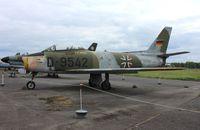 D-9542 @ EDUG - Canadair CL-13B Sabre 6 - by Mark Pasqualino