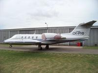 CX-PYB @ SUAA - Único Learjet existente en nuestro País. - by aeronaves CX