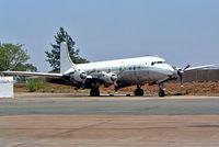 ZS-XXX @ FASK - Douglas DC-6B [45329] (South African Airways Historic Flight) Swartkop~ZS 06/10/2003. Now displayed outside Drakensburg Truck Manufacturers Pretoria-Wallmannsthal~ZS