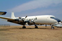 EL-WIL @ FAGM - Douglas DC-6 C-118A [44645] (Transair Cargo) Johannesburg-Rand~ZS 07/10/2003. Broken up Rand 2004.