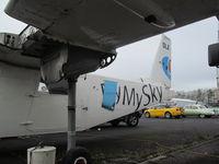 ZK-DLA @ NZAR - new cargo door? - by magnaman