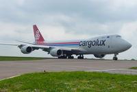 LX-VCC @ LUX - CARGOLUX operates 20 B747 cargo airplanes; 10 B747-400s & 10 B747-800s - by Jean M Braun