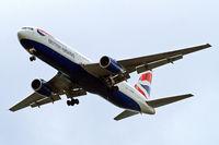 G-BNWZ @ EGLL - Boeing 767-336ER [25733] (British Airways) Home~G 09/05/2015. On approach 27R.