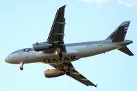 A7-CJB @ EGLL - Airbus A319-133LR [2341] (Qatar Airways) Home~G 31/05/2015. On approach 27R. - by Ray Barber
